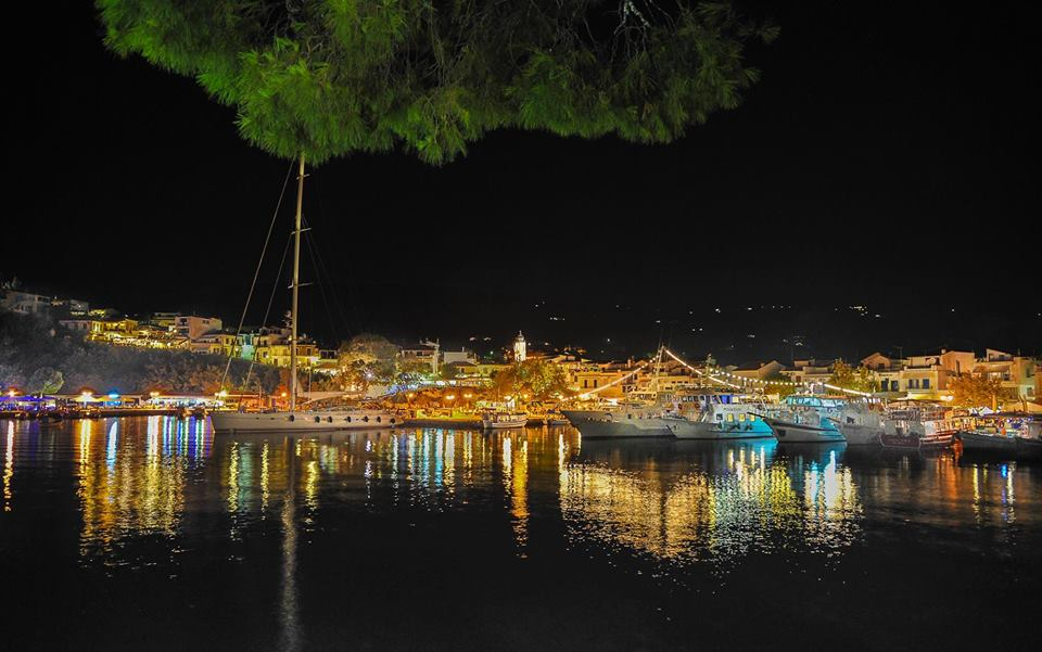 Skiathos by night Philip A Harker