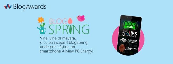 A venit primăvara, START # blogSpring!