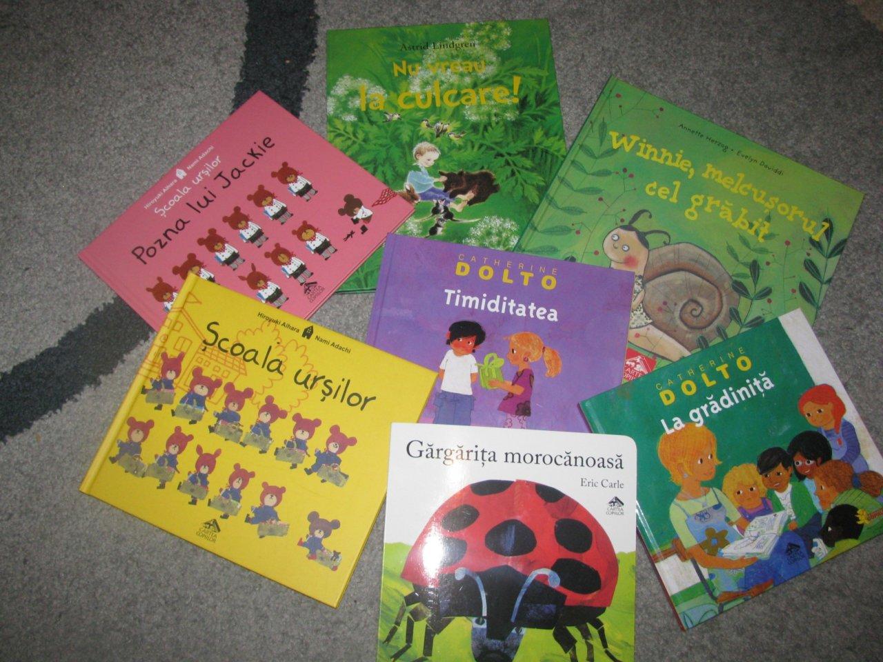 Ce mai citim noi? Cartea pentru copii