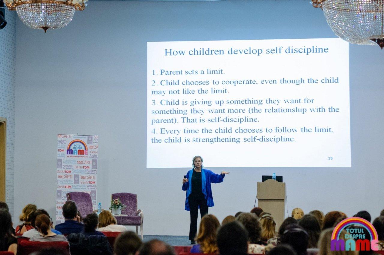 Dr Laura Markham despre disciplina