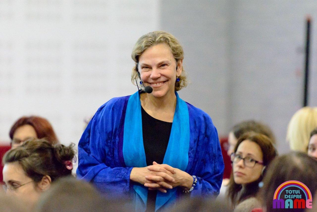 Dr Laura Markham in Romania