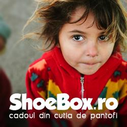 Shoebox 2015 la Piatra Neamț – Bucuria vine … într-o cutie de pantofi