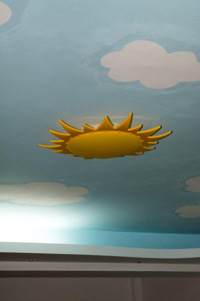 soarele din tavan