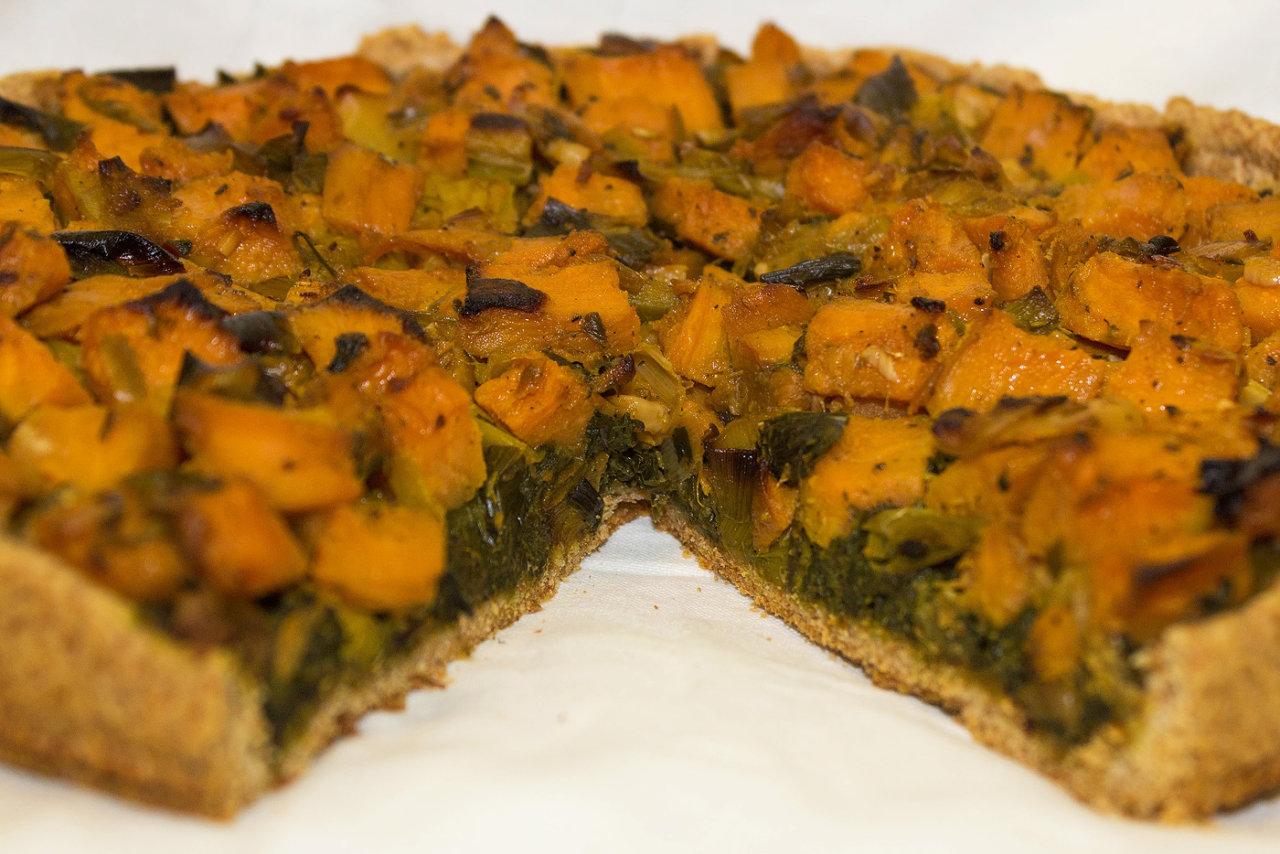 Tarta verde-portocaliu