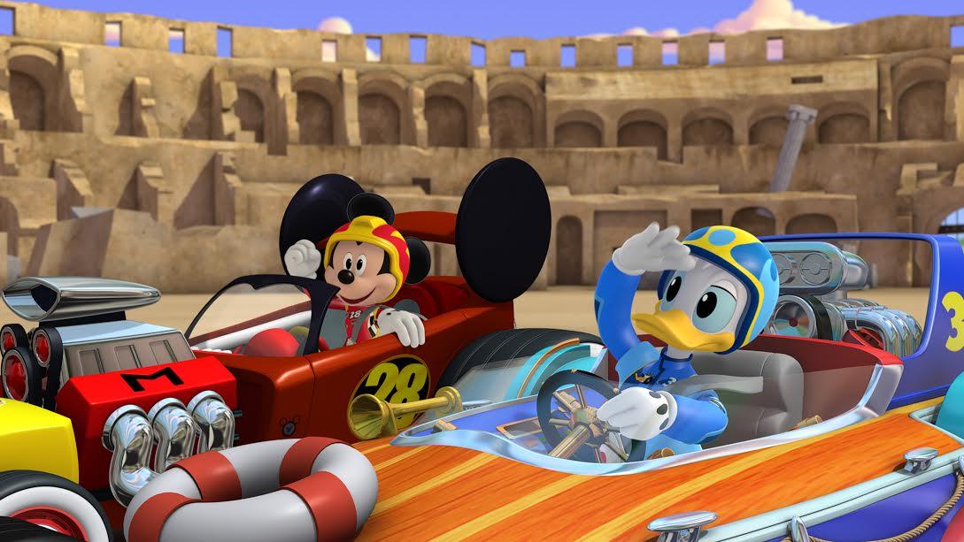 Un nou serial Disney – Mickey și Piloții de curse