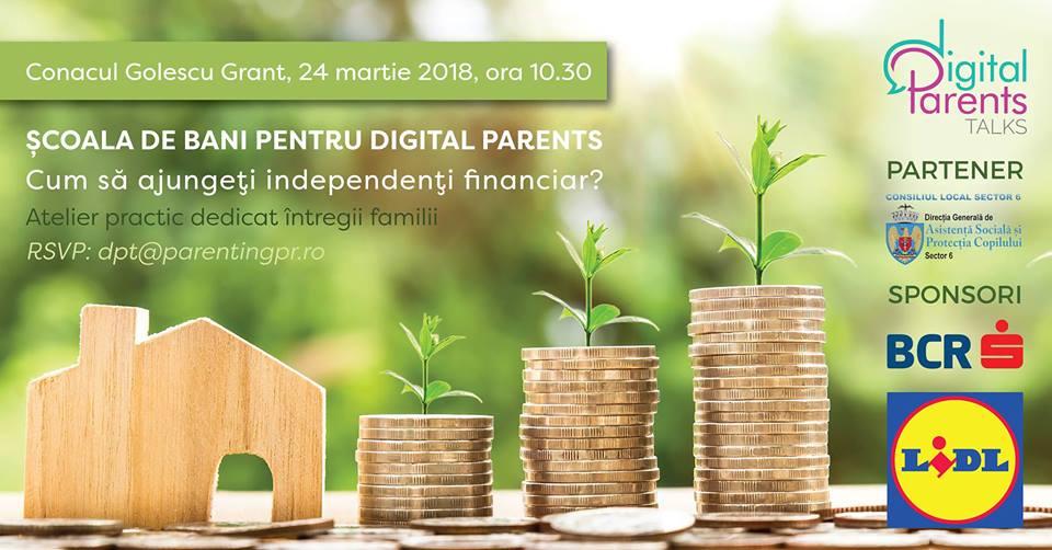 Școala de bani. O întâlnire by Digital Parents