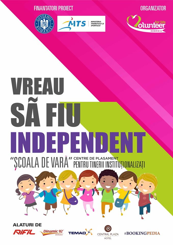 Voluntariat ca mod de viață. Comunicat de presă Volunteer for Life
